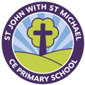 St John with St Michael CE Primary School Logo